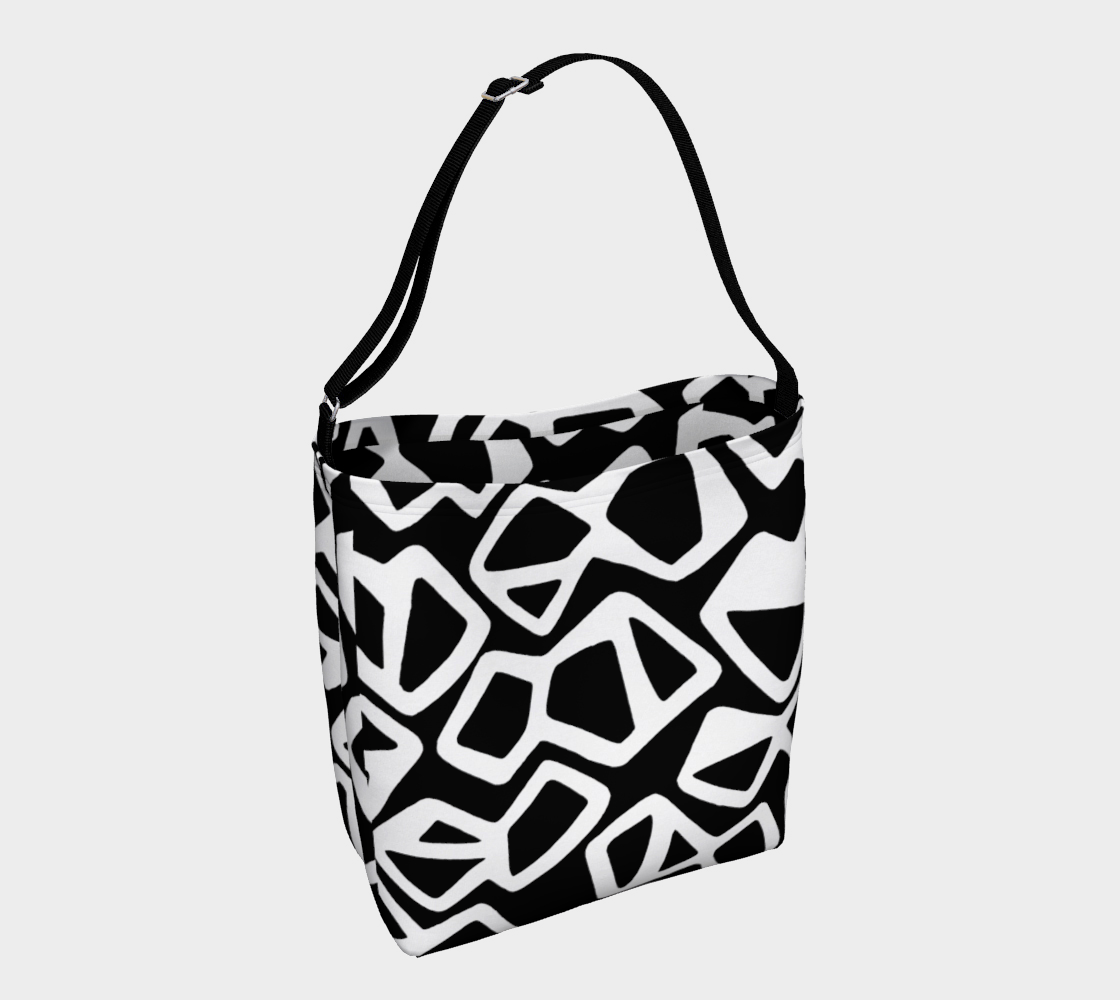 Contrast Day Tote