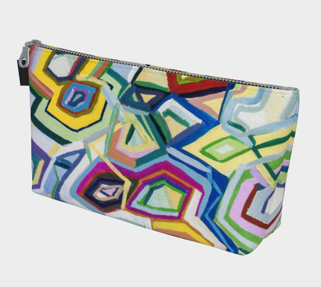 Kaleidoscope Makeup Bag