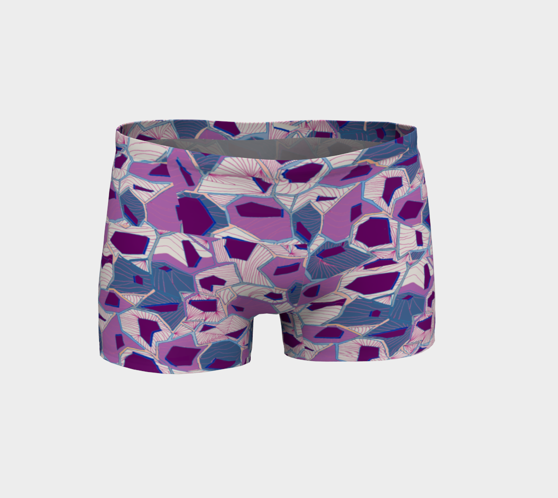 Plum Prisms Shorts