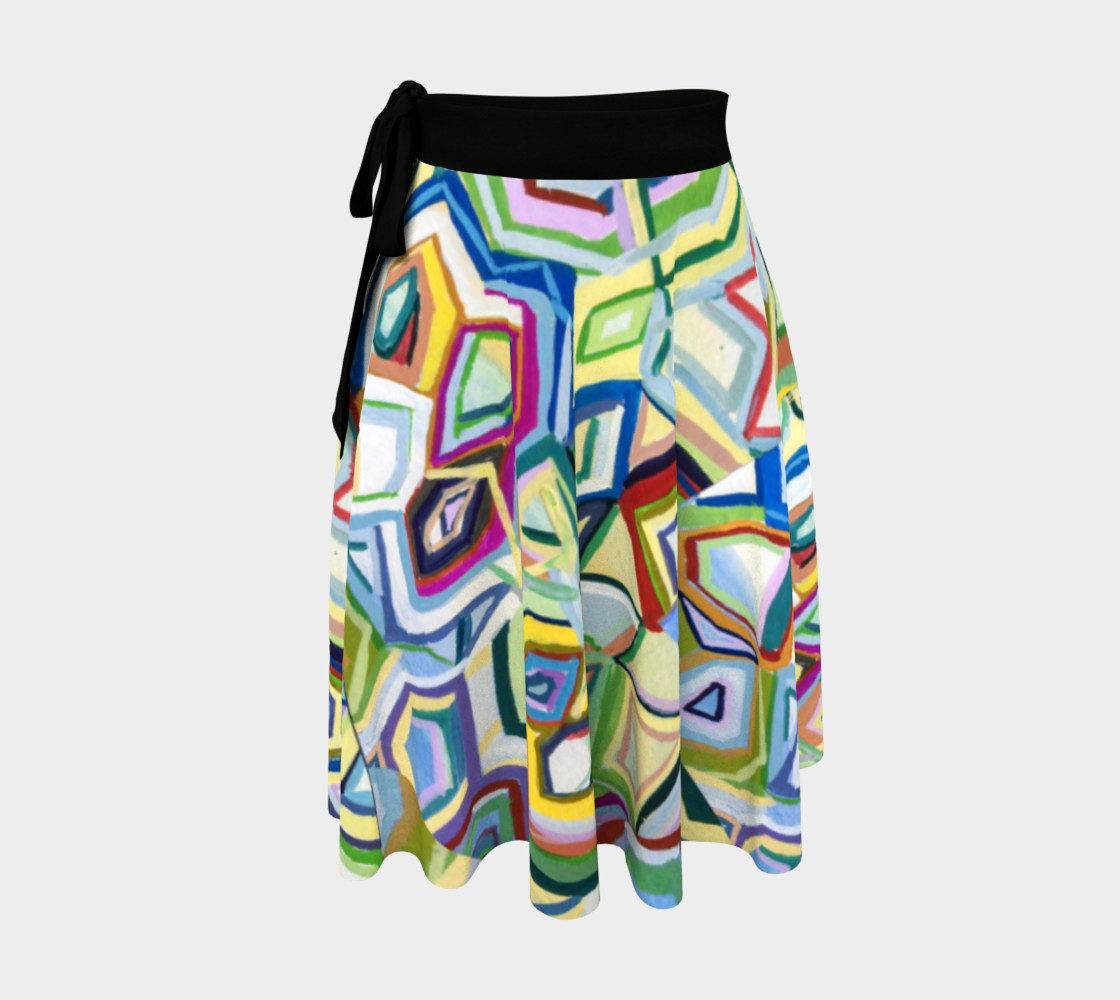 Kaleidoscope Wrap Skirt