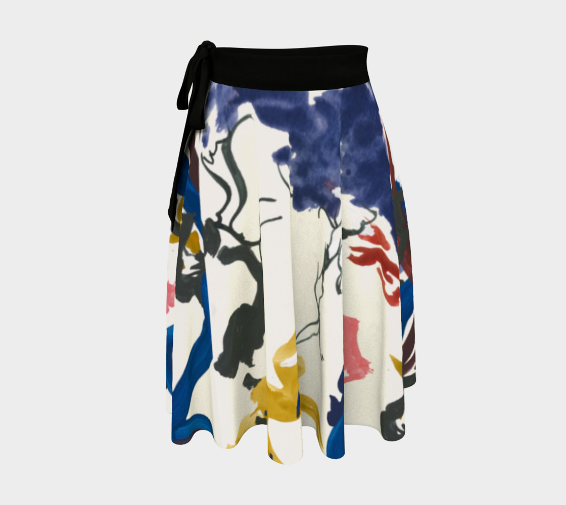 Lightness Wrap Skirt Bright